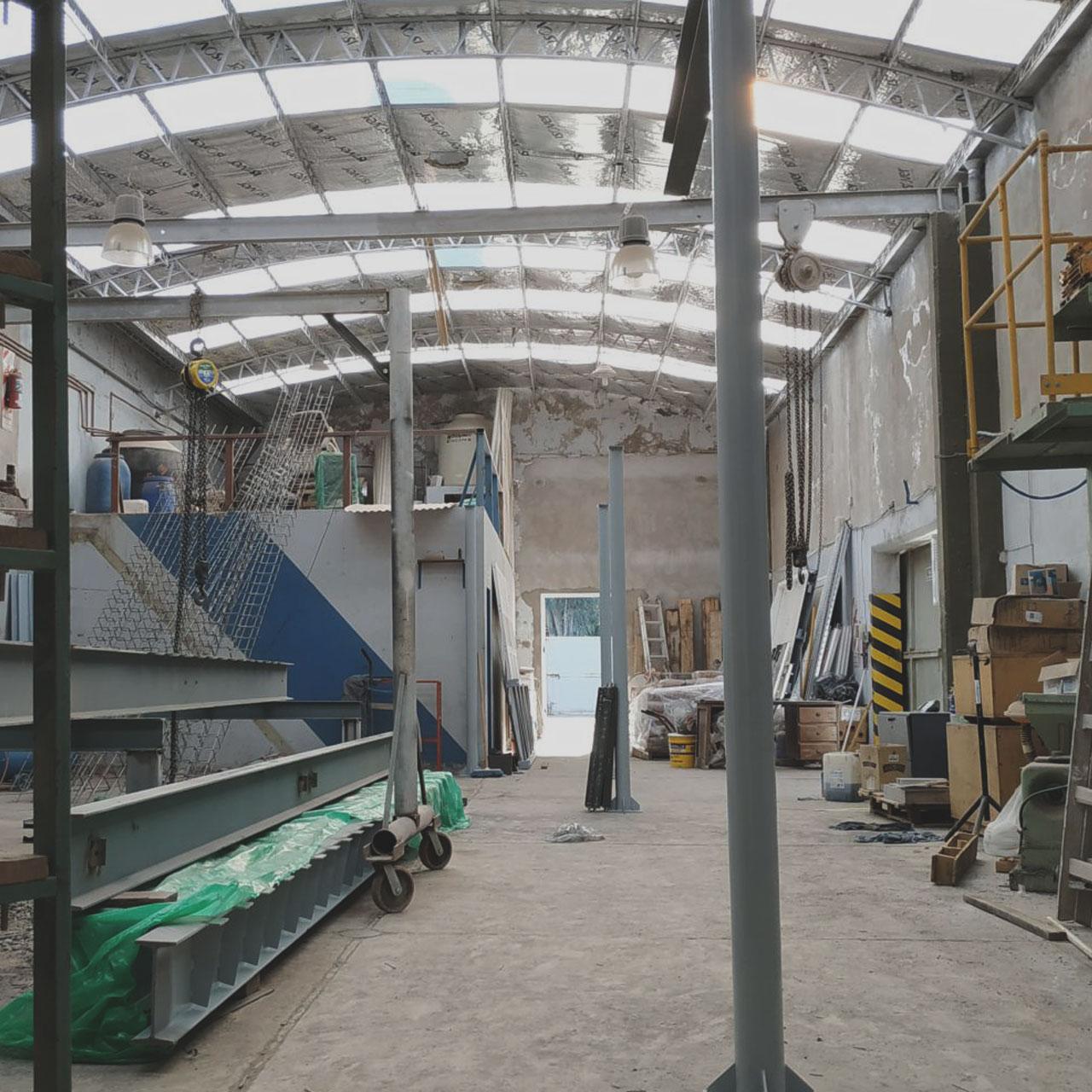 Nuevas instalaciones en Biggio 1250